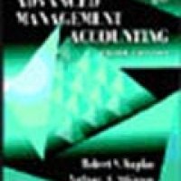 ADVANCED MANAGEMENT ACOUNTING 3e(pb)1998