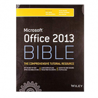 MICROSOFT OFFICE 2013 BIBLE (pb) 2016