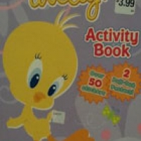 TWEETY!: ACTIVITY BOOK OVER 50 STICKERS 2 PUL-OUT POSTERS! (pb)
