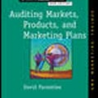 AUDITING MARKETS, PRODUCTS, AND MARKETING PLANS (pb)2006