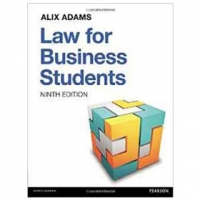 LAW FOR BUSINESS STUDENTS 9e (pb) 2016