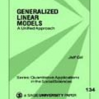 GENERALIZED LINEAR MODELS: A UNIFIED APPROACH (07-134) (pb)2001