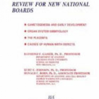 EMBRYOLOGY: REVIEW FOR NEW NATIONAL BOARDS (pb)1998