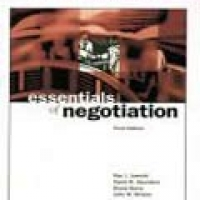 ESSENTIALS OF NEGOTIATION 3e(pb)2004