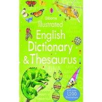 USBORNE ILLUSTRATED ENGLISH DICTIONARY & THESAURUS: AGE 9+ WITH 1,200 ILLUSTRATIONS (pb)