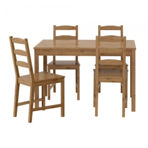 Pine Wood Dining w/d 4 Chairs