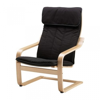 Easy arm chair w/d wooden frame