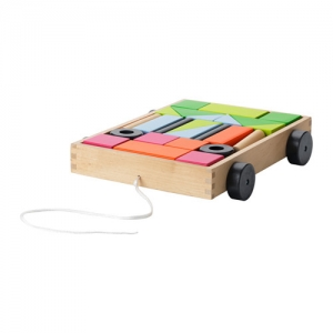 Building Blocks w/d Wagon