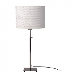 Table lamp w/d height adjustment